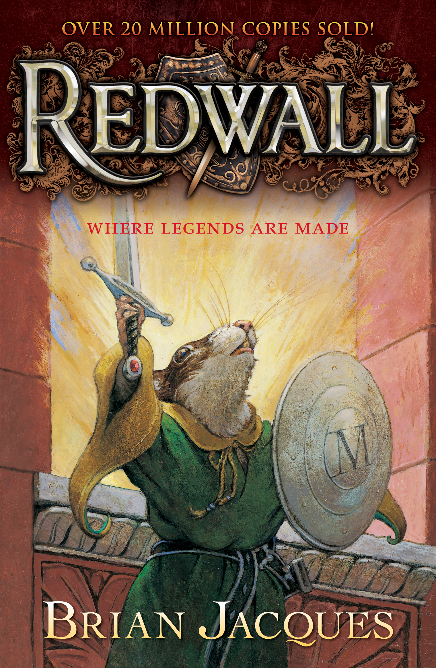 an analyisi of the story redwall by brian jacques Brian jacques, author of the 'redwall' books,  the two-way is the place to come for breaking news, analysis and for stories that are just too interesting — or too entertaining — to pass up.